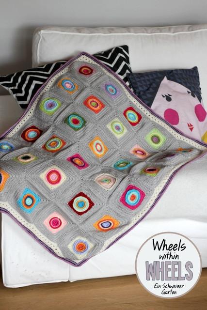 Ein Schweizer Garten: Baby-Decke