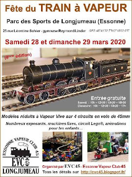 Fête du Train à Vapeur 2020