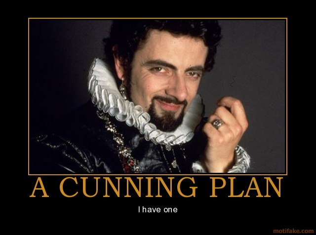 Cunning Plan Blackadder Quotes Quotesgram