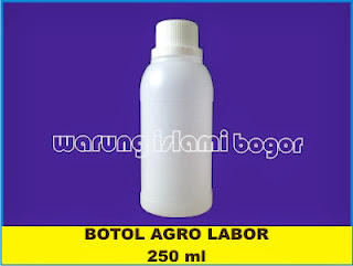 Jual Botol Labor HDPE 250ml Transparan