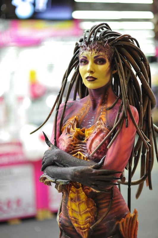 Is this the best ever Sarah Kerrigan cosplay youve ever