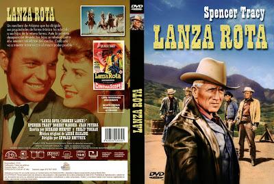 Cover, caratula, dvd: Lanza rota | 1954 | Broken Lance