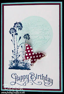 Serene Silhouettes Birthday Card by Stampin' Up! Demonstrator Bekka Prideaux - check out her web site and get your Stampin' Up! goodies from her