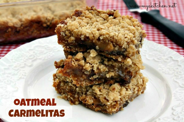 Oatmeal Carmelitas {Ooey Gooey Goodness}