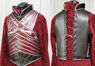 Lord Elrond chest armor front and back.