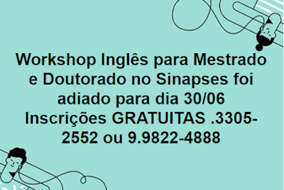 Workshop Gratuito (Teresina e Timon)