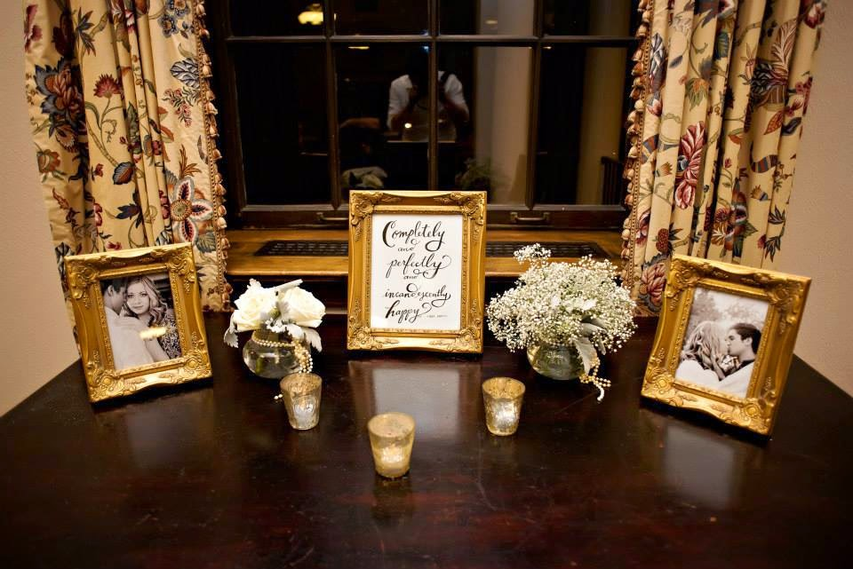 The Blooming Bride, DFW, Fort Worth, Texas, Wedding Flowers, Wedding Photos, Photo Table