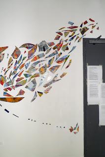 Resurgence (detail) mixed media installation 2011