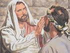 VISUAIS JESUS CURA UMA HOMEM CEGO.