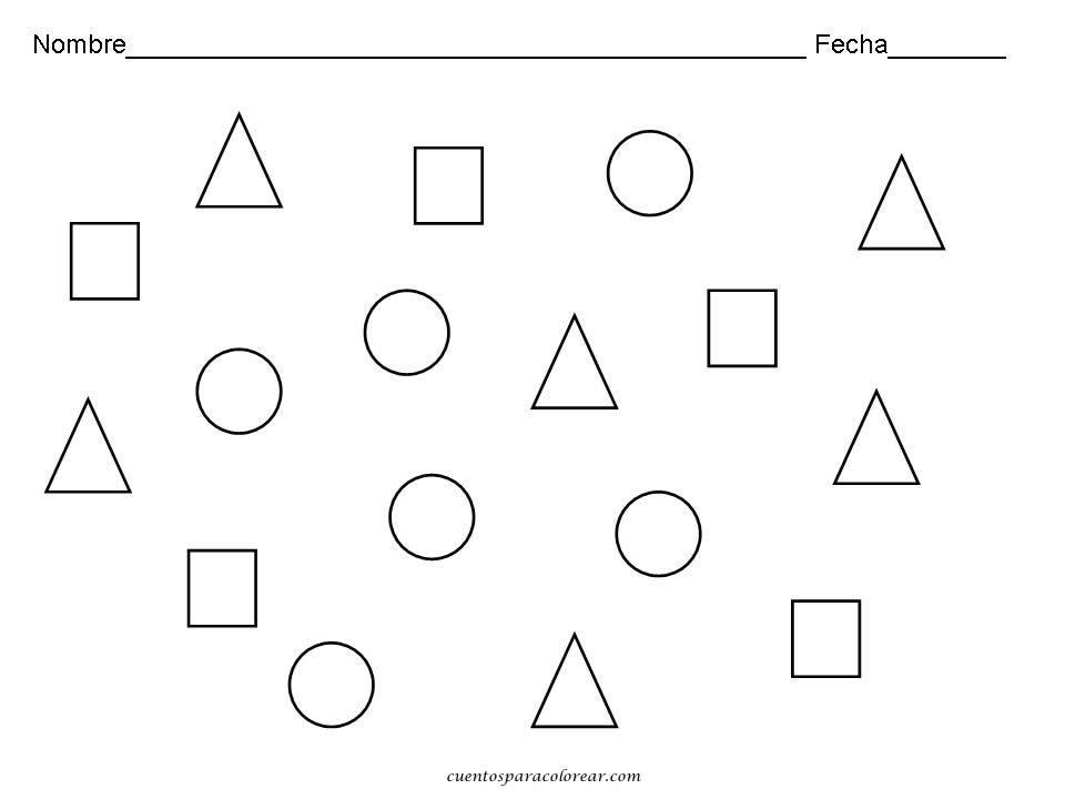 ACTIVIDADES TRANSICIÓN: Figuras geometricas