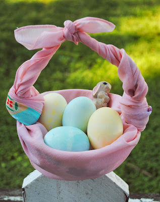 Easter Projects For Toddlers: Pretty Basket 2