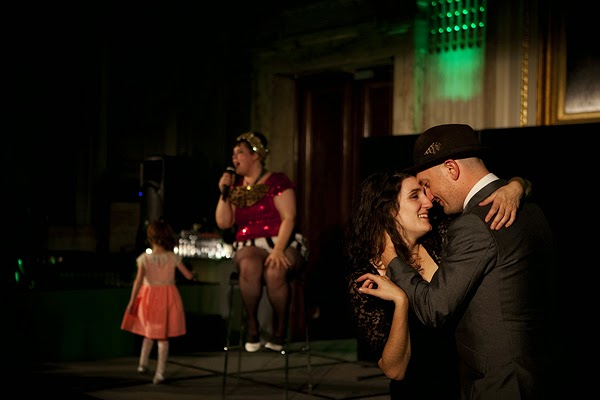 London wedding, Westminster, cabaret,