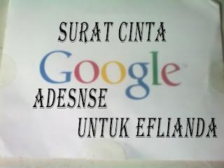 Akhirnya dapat surat cinta dari Google Adsense