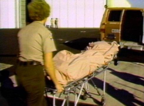 El cuerpo sin vida de Natalie Wood.