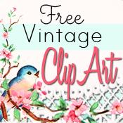 Free vintage clip arts