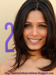 Girls Medium Length Hairstyles - Bollywood Celebrities Hairstyle Ideas