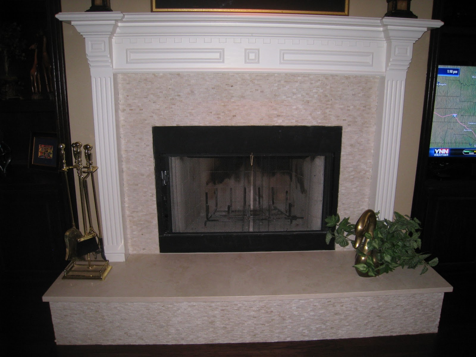 decorator on demand change the face of your fireplace part 2. Black Bedroom Furniture Sets. Home Design Ideas