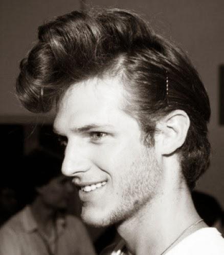 men pompadour hairstyles aggressive