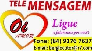 Mensagens ao vivo para o Dia das Mães - Rua Santa Luzia, Espírito Santo/RN.