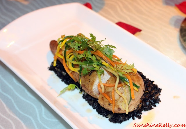 Chicken roulard, Dinner with the MasterChef Asia Judges, Westin KL, MasterChef Asia judges, Chef Susur Lee, Chef Bruno Menard, Chef Audra Morrice