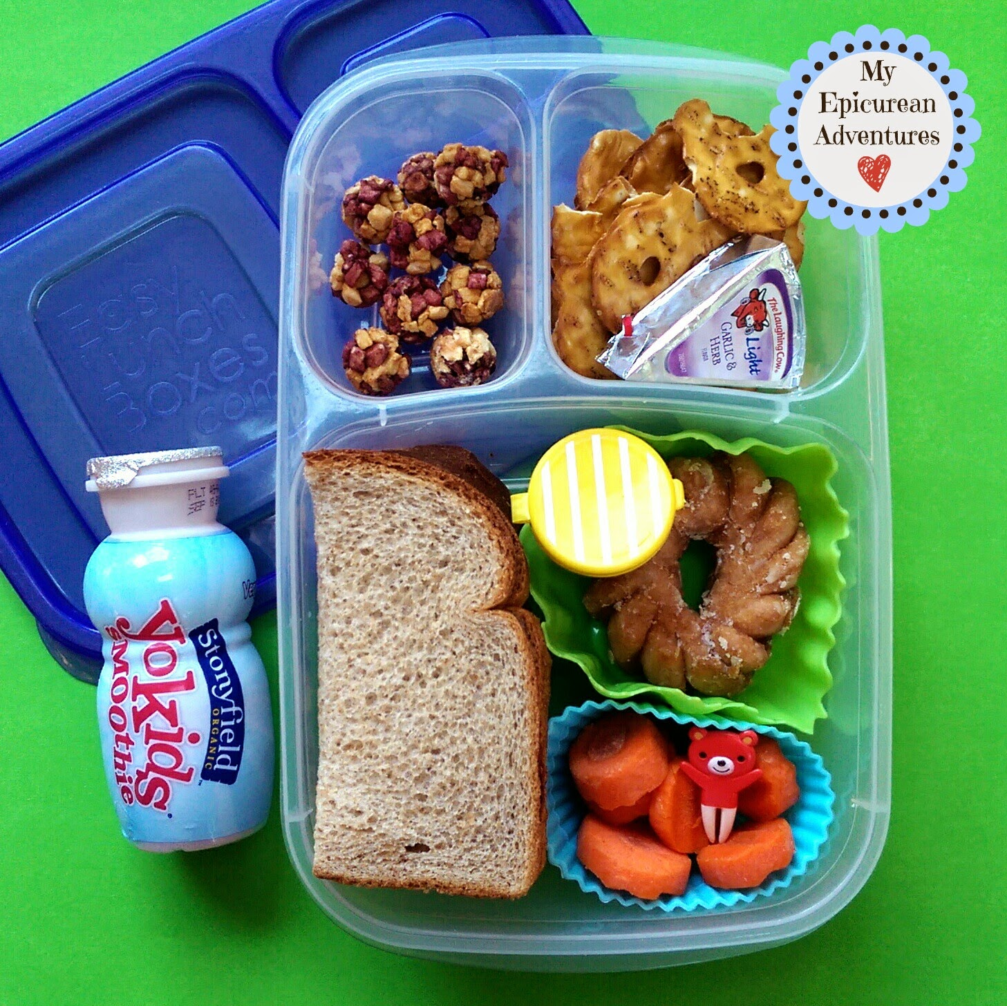 Adventures: Here's Lunch #36: Sandwiches on Sticks and a PB&J in @easylunchboxes
