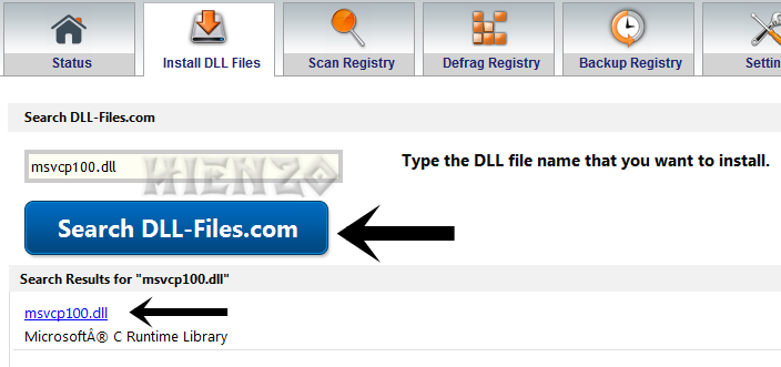 Search DLL Files