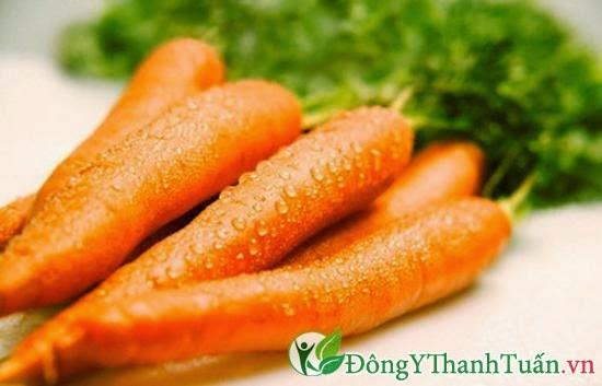 Cà rốt là thảo mộc giải độc gan nhanh chóng