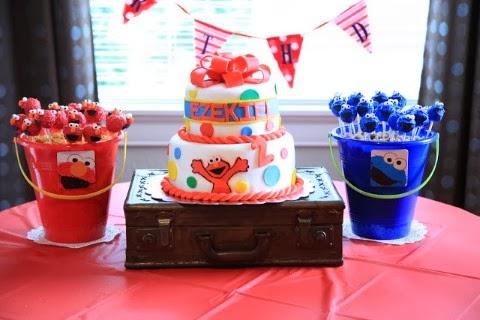 Decoración de Fiestas Infantiles de Elmo | Fiestas Infantiles