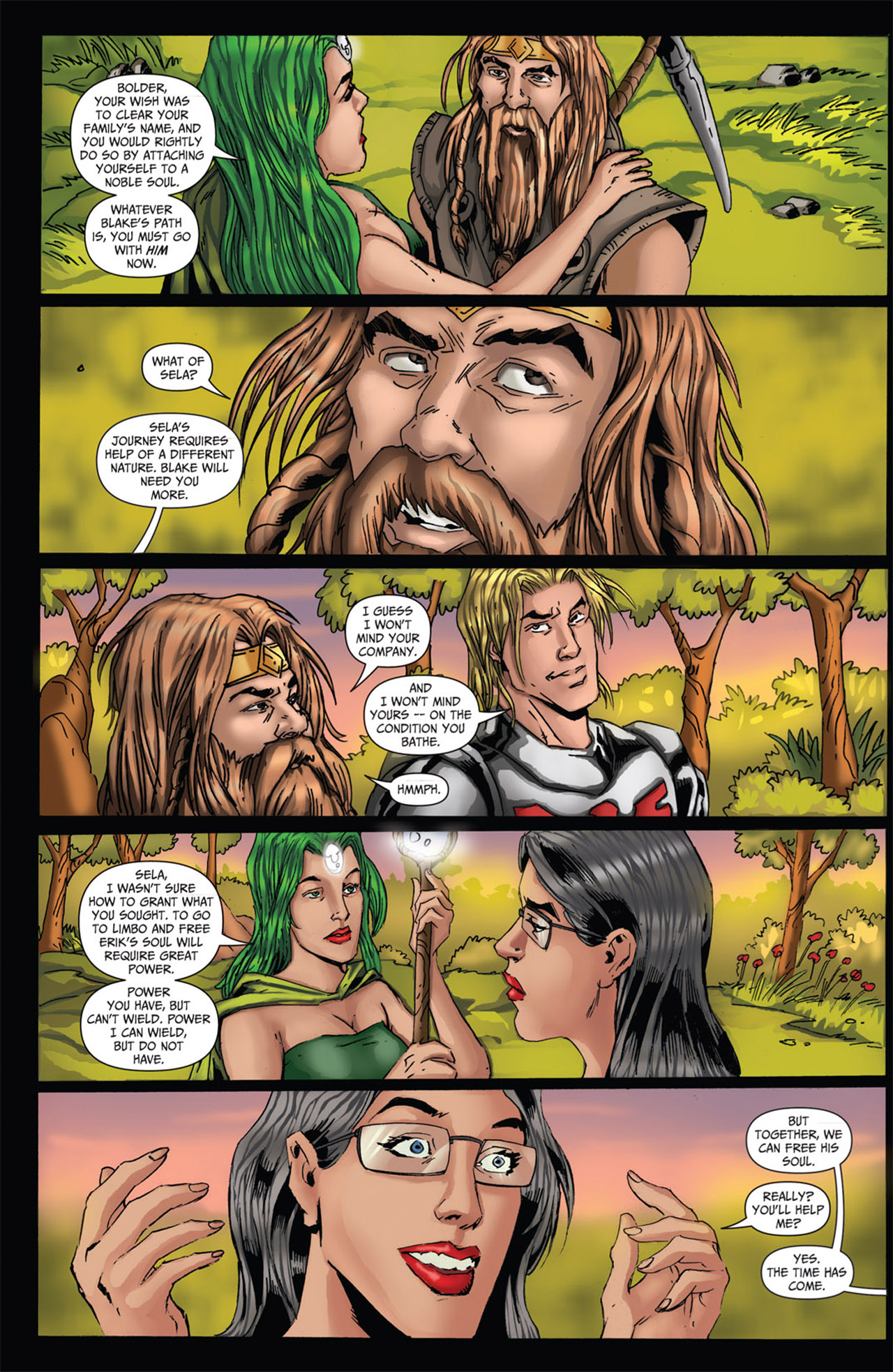 Grimm Fairy Tales (2005) Issue #62 #65 - English 15