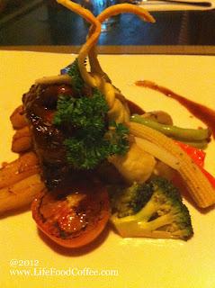 chicken chop from harris waterfront, batam