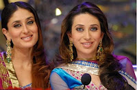 Karishma kapoor, Kareena Kapoor, taking award, feminism, indian actresses, sisters