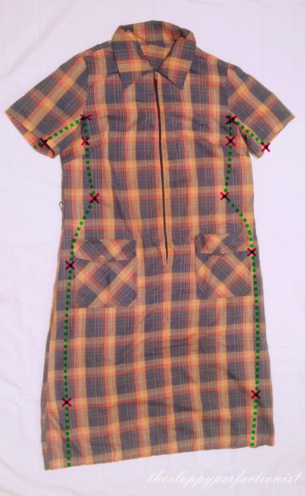 Thrift Store Dress Makeover