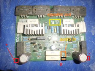 Cara Menghubungkan Tegangan Ke Kit Power Watt Besar