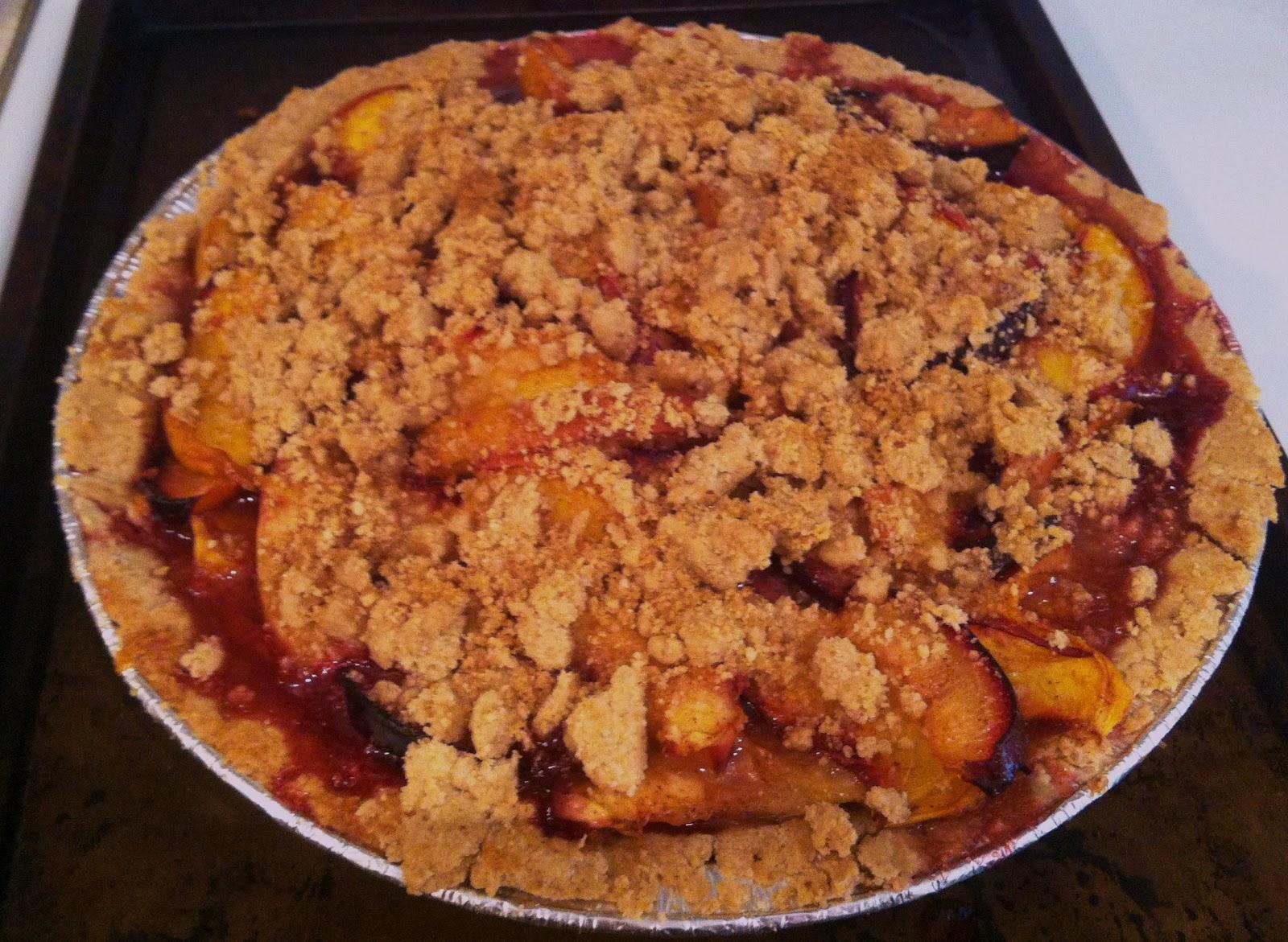 plum and peach pie almond plum and peach pie almond plum and peach pie ...