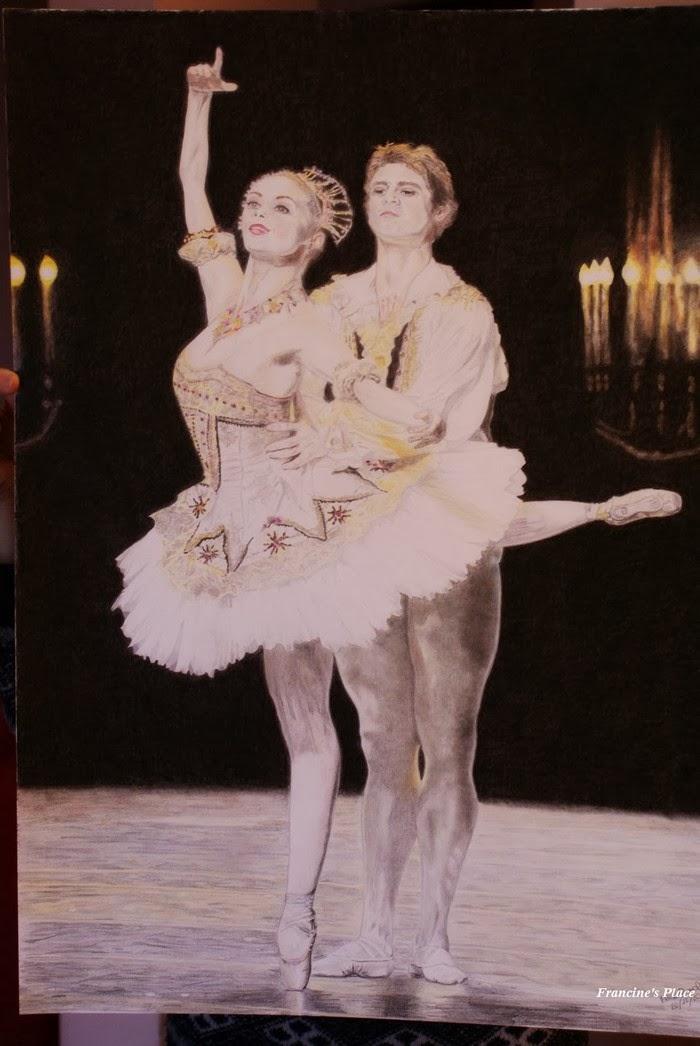 Nutcracker drawing Ballet Tchaikovsky