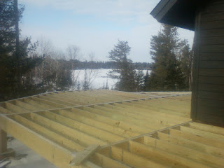 deck framing ready for decking, http://huismanwoodworking.com/