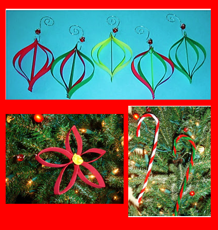 Learning ideas grades k 8 handmade christmas ornament crafts have you thought about making some handmade christmas ornaments with the kids here are few that are fun and inexpensive to make solutioingenieria Choice Image