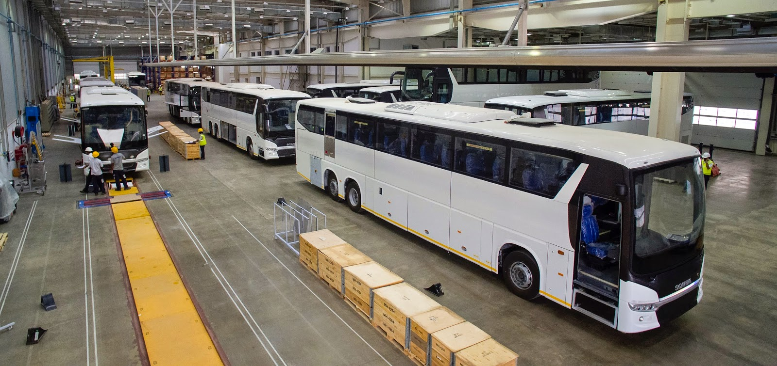 Scania Bus Plant Bangalore India - A virtual visit | Biswajit SVM Chaser
