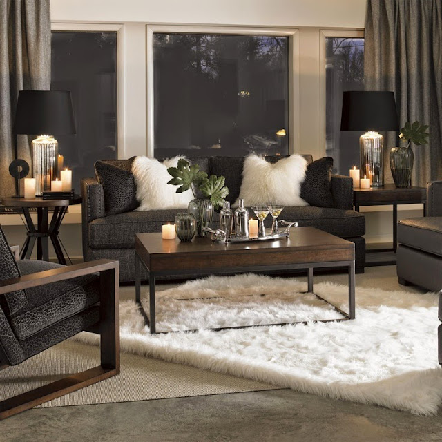 South Shore Decorating Blog: Trend-Spotting: Mongolian Fur