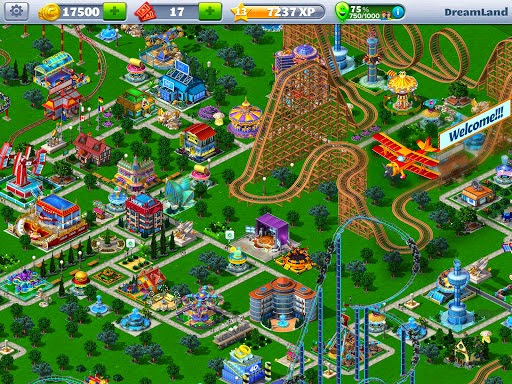 Game Rollercoaster Tycoon 4 Mobile Mod APK ( Infinity Money )