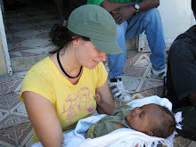 Cite Soleil, Haiti 2011: Tammy at the existing clinic
