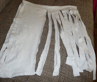 jak zrobić nitkę z bawełny
