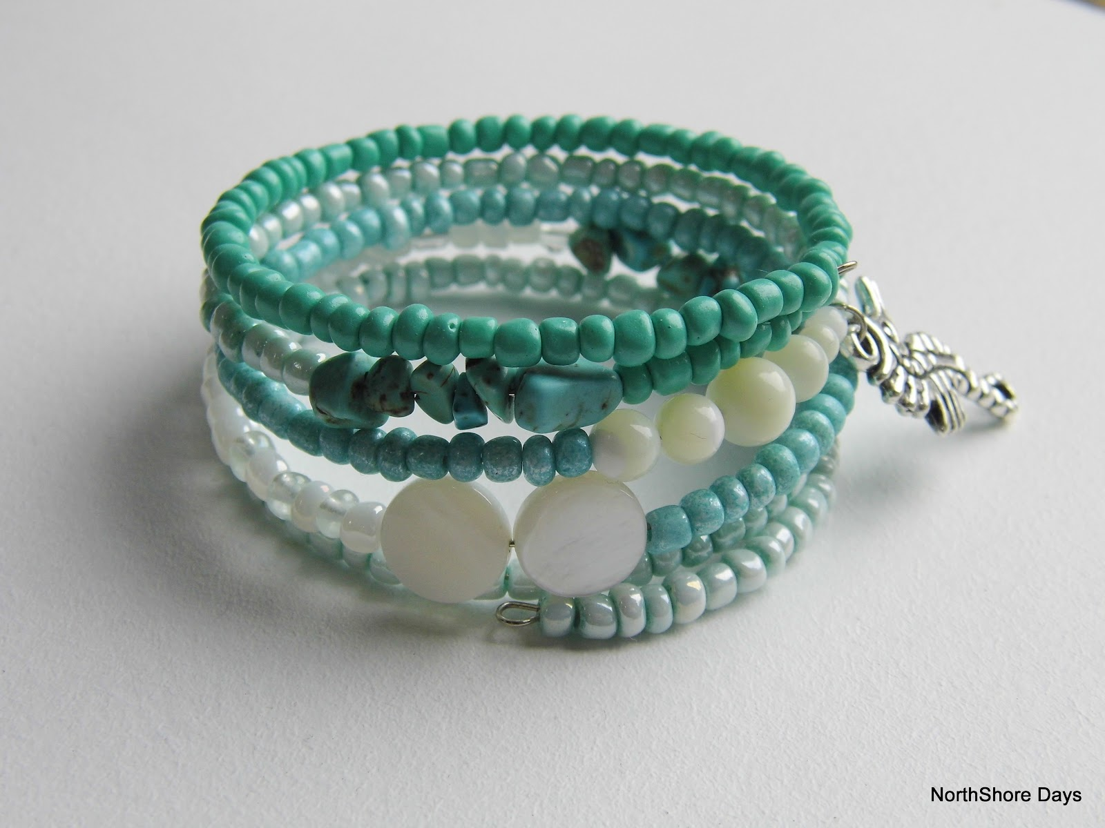 beachy more bracelet inspired beach sb northshore green bracelets days
