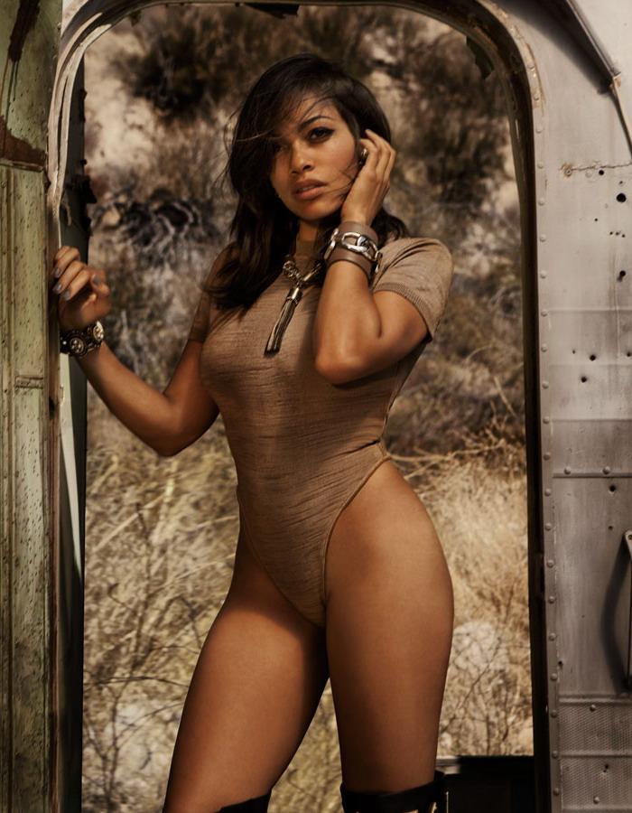 Rosario Dawson Gq 2011