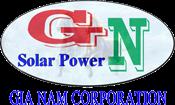 logo Công ty trung tâm năng lượng mặt trời Gia Nam