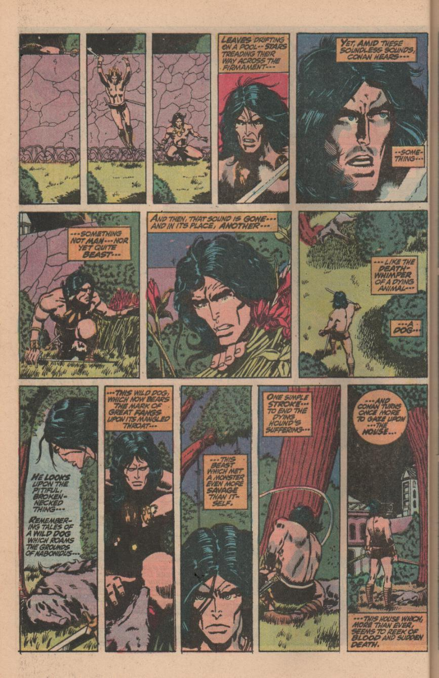 Conan the Barbarian (1970) Issue #11 #23 - English 22