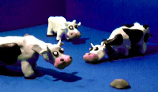 vacas para una maqueta