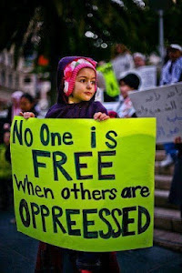 No one is free when others are not