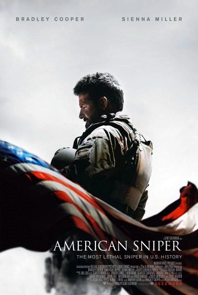 American Sniper Movie Film - Sinopsis (Bradley Cooper, Sienna Miller)