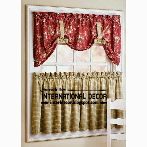 Largest catalog of kitchen curtains designs ideas 2016 - Country kitchen curtain ideas ...